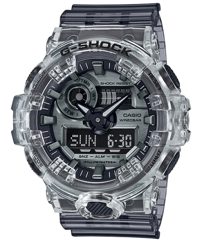 Casio G-Shock Transparent Series GA-700SK-1A Men's Watch